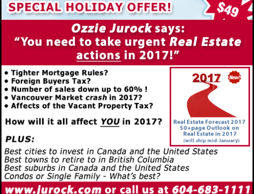 Buy the Real Estate Outlook 2017 Issue