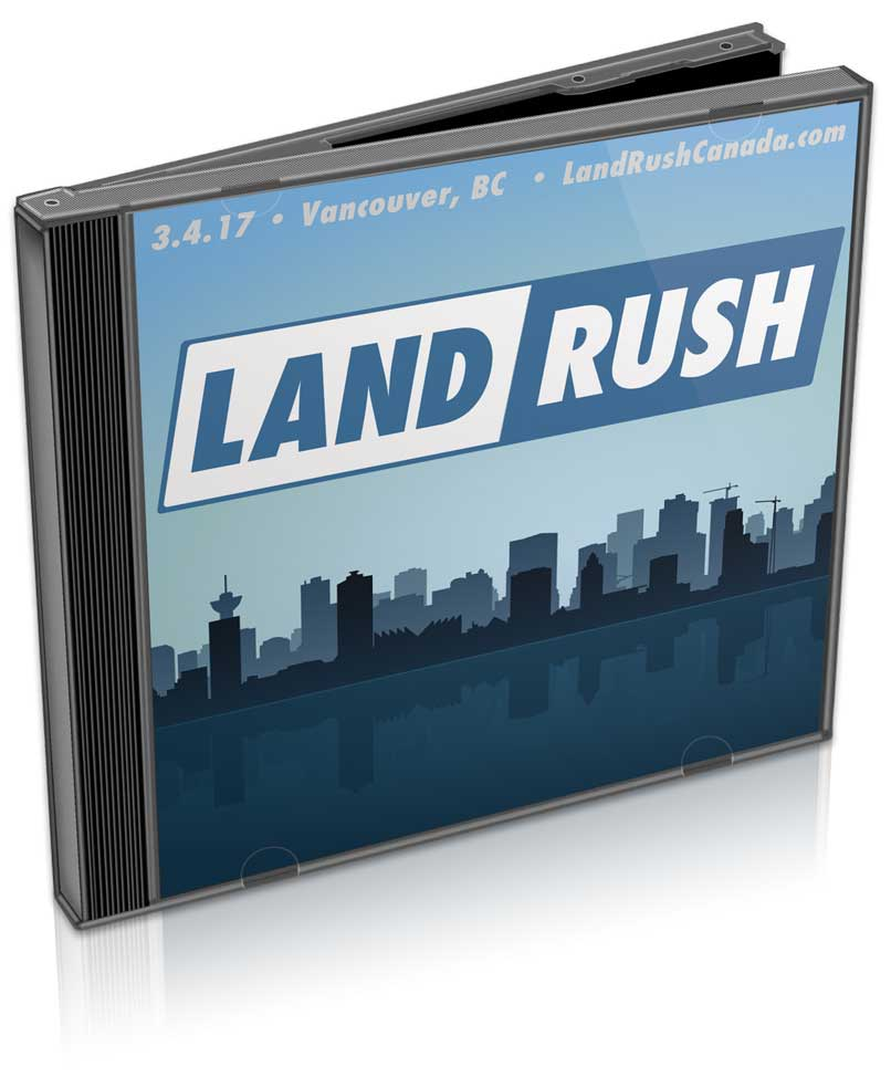 LAND RUSH CDs