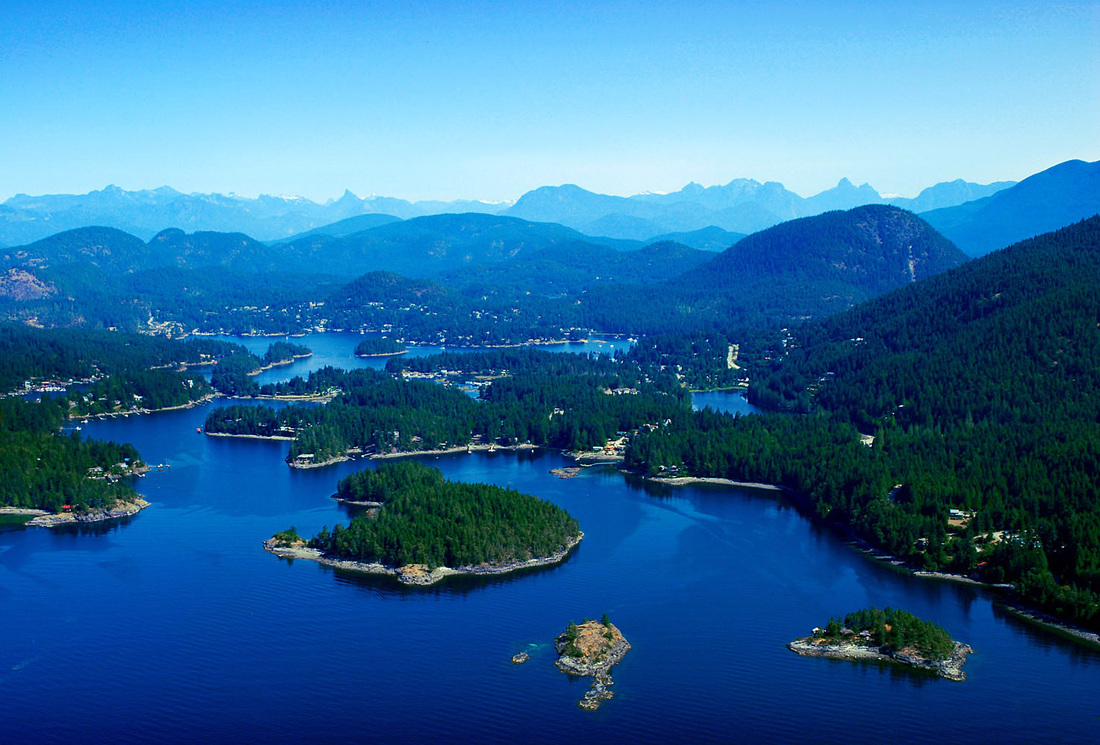 Pender Harbour 1 acre private waterfront