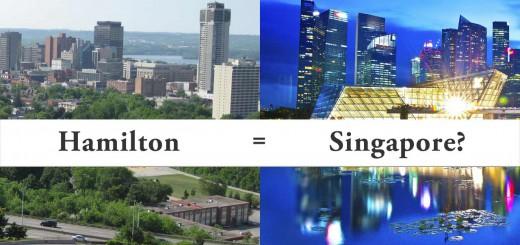 Demographia ranks Hamilton, Ontario and Singapore as equal in affordability