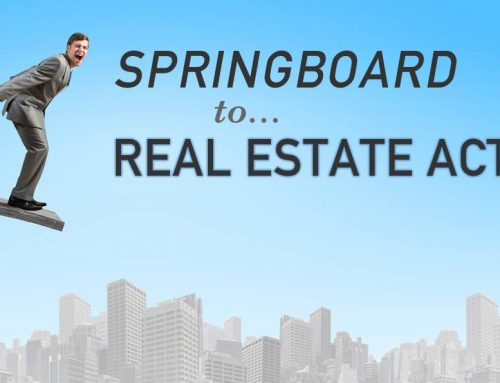 Springboard to Real Estate Action, Sept. 28